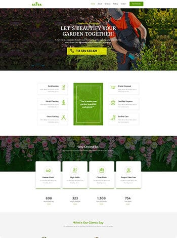 Gardener screenshot